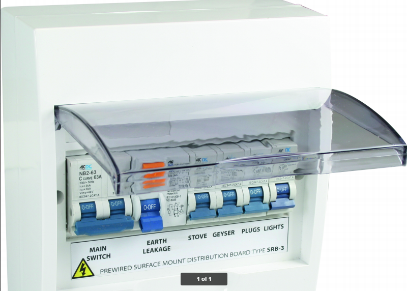 Pre wired Distribution board - African Supplier Group